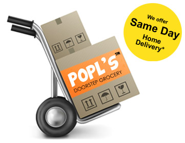 We offer Same Day Delivery